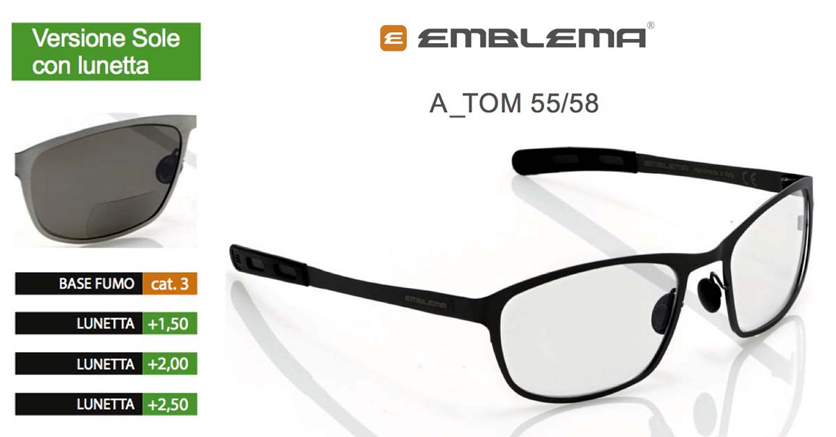emblema-tom-occhiali-vista-sole